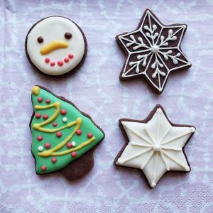 米粉クッキー&てんさい糖で作るナチュラルなアイシングクッキー