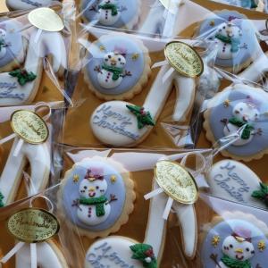 小1息子のヤマハのお友達へアイシングクッキーをプレゼント