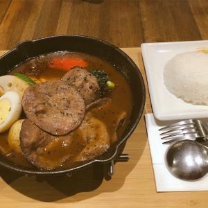 銀兎湯咖喱のスープカレー @中山駅