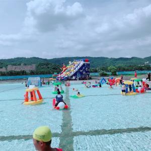 大佳河浜公園で水遊び @行天宮、圓山