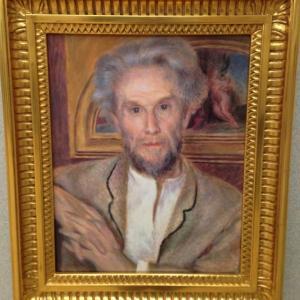 ヴィクトール・ショケの肖像 オーギュスト・ルノワール