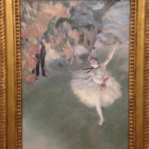 舞台の踊り子(エトワール) エドガー・ドガ