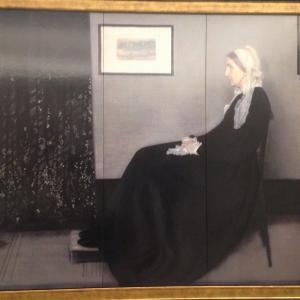 灰色と黒のアレンジメント 第1番 画家の母の肖像 ジェームズ・アボット・マクニール・ホイッスラー