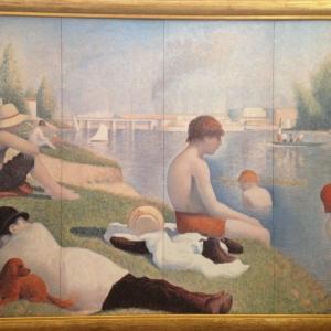 アニエールの水浴 ジョルジュ・スーラ