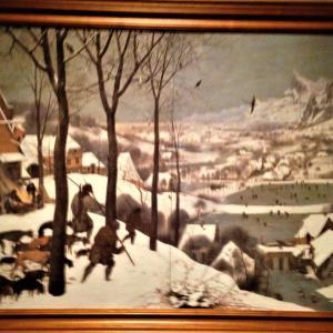 雪中の狩人 ピーテル・ブリューゲル(父)