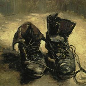 1足の靴(古靴、古びた靴) ファン・ゴッホ