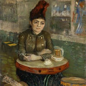 カフェ・タンブランの女 ファン・ゴッホ