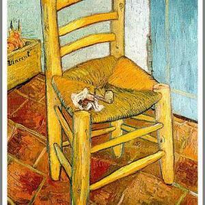 アルルのゴッホの椅子 ファン・ゴッホ