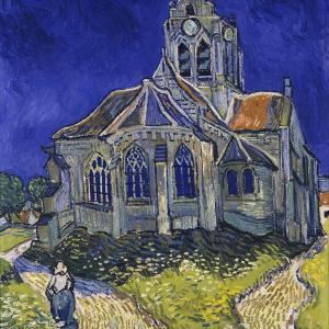 オーヴェールの教会  ファン・ゴッホ