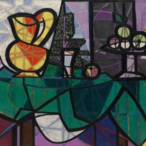 果物皿と水差し パブロ・ピカソ