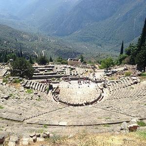 デルフィの古代劇場