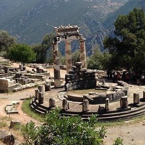 アテナ・ブロナイアの神域