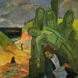 緑のキリスト ポール・ゴーギャン