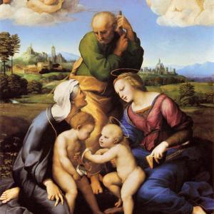 カニジャーニの聖家族 ラファエッロ・サンツィオ