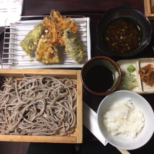 【国立グルメ】国立駅すぐ「そば芳」の力強い蕎麦。