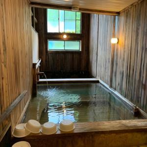 【群馬温泉】紅葉ラインに突如現れる「八千代温泉 芹の湯」とろとろのお湯が最高♪