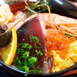 【千住大橋】超大盛り海鮮丼が人気の定食・食堂【とくだ屋】