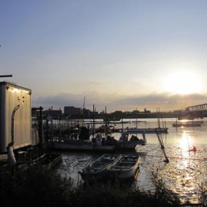 2020年江戸川放水路ハゼ釣り開始!6月末の釣行です。・・・でも、放水路って川?海?