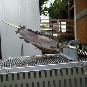 囲炉裏自在くし台を購入!これで角型七輪での魚焼きが楽になる・・・!?いや、これは・・・!!