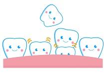 ぐらぐら乳歯は歯医者さんで抜いてもらいました