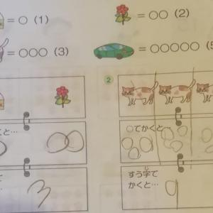 【算数とプログラミング】お勉強と読書記録2020/2/18(4歳、6歳幼児教育)