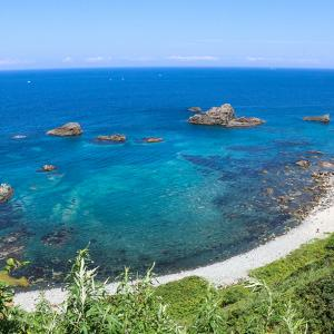 北海道ソロキャンプの旅 島武意海岸~神威岬の積丹ブルーを巡る
