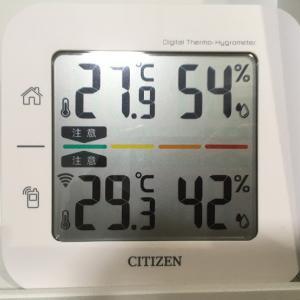 暑すぎても,エアコン1台で全館冷房は難しい!
