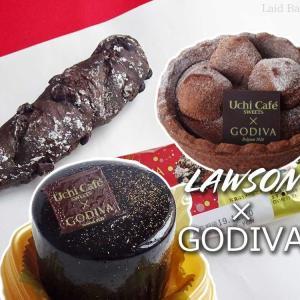 Uchi Café×GODIVA◆リッチなゴディバのショコラスイーツ達 @LAWSON