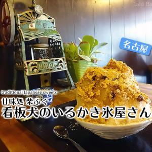 名古屋の絶品かき氷はきなこが最強の『柴金時』 / 甘味処 柴ふく @名古屋(愛知)