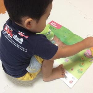 ポピーキッズイングリッシュを2歳2ヶ月の息子が挑戦