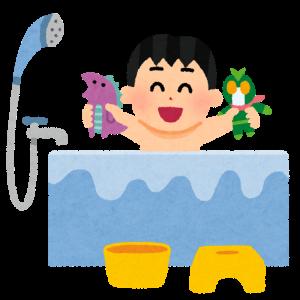 【1歳10ヶ月】お風呂で背中を洗ってくれるようになりました