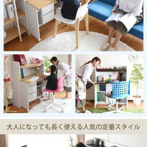 <br /><br /><br />スペースを取らない学童机なので リビングに置くと お母様が用事をしながら子供の勉強の相手が出来ます