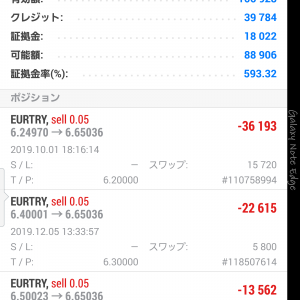 トルコリラスワップ投資(1月27日~1月31日)