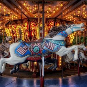 ベルギーの移動式遊園地 Kermis・Kermesse