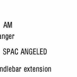 "Canyon Speedmax CF SLX ""Angled"" Extension Bar"