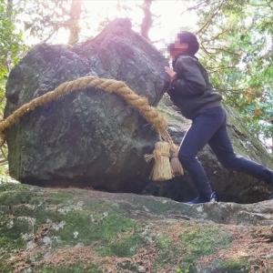 高知のゴトゴト石へ受験生を連れて行ってきました!【絶対に落ちない石/岩】