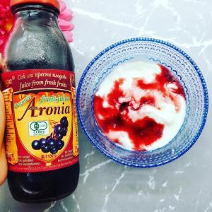 有機アロニア100%果汁 ブルーベリーの5倍のポリフェノール♡
