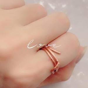 LIVE812 Mayu♡Sari ஐPCA様の  純銅製デザインリング(*´꒳`*)♡