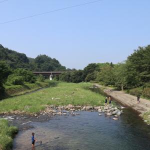 清流公園|川遊びが楽しめる公園の雰囲気など:群馬県川場村