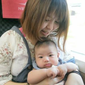息子と日本へ