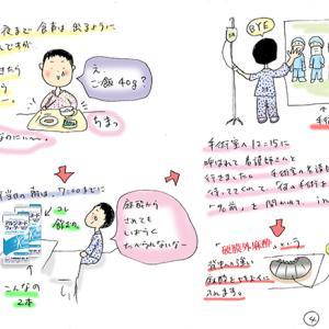 ★胆石日記4~いよいよ胆嚢摘出開腹手術~