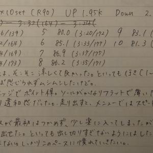 【200601-200607週報】超早朝練初め