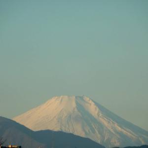 改めて眺める富士山