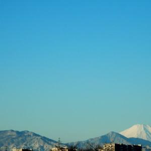 2月になって富士山は。
