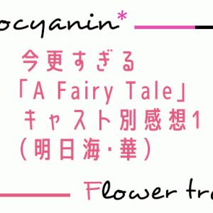 今更すぎる「A Fairy Tale-青い薔薇の精-」キャスト別感想1(明日海・華)