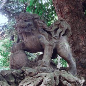 赤坂氷川神社と大嘗祭の御朱印