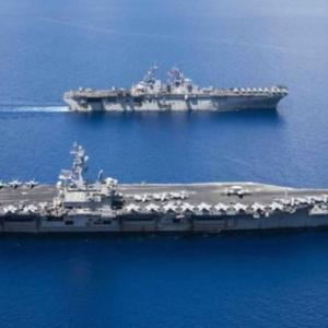 朝鮮半島周辺に3隻の米空母が2年ぶりに同時展開~ネットの反応「これは韓国に対する圧力だなw 元太平洋軍司令官のハリス叩きに怒ったんだなw」