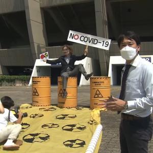 <テレ朝> 福島第一原発の処理水放出だけでなく東京オリンピックにも反発 韓国で「ひとりデモ」=ネットの反応「こんなのを報道するのは朝日だけ。よく見つけてきたな」