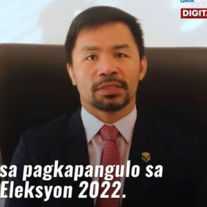 フィリピンの英雄、マニー・パッキャオ、来年5月のフィリピン大統領選への出馬を表明 =ネットの反応「ハイ、当確」「ドゥテルテが次は副大統領選に出馬するらしいからな、凄い布陣だ」「高市早苗とパッキャオの首脳会談が実現するのか」