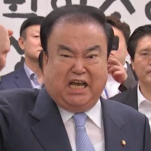 """文喜相・韓国国会議長、""""徴用""""補償法案は「日本の痛切な反省が前提になる」 法案を来週提出方針〜ネットの反応「反省しても、痛切じゃないからノーカン 謝罪しても、真の謝罪じゃないからノーカン 賠償しても、政権が変わったらノーカン →無限ループ」"""